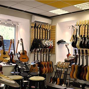 Музыкальные магазины Коломны
